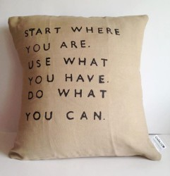 The Agile Way - Start where you are, use what you have, do what you can.