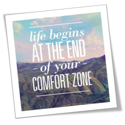 Life in the Agile Zone includes being out of your Comfort zone