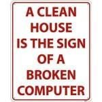 A Clean House  : )